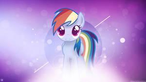 Rainbow Dash being cute