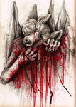 I bleed for you....