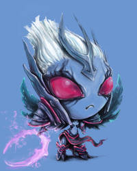 Vengeful spirit by KuvanaLesina