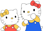Hello Kitty and Friends (1991) Vector #1