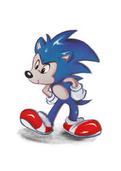 Sonic - Disney stylization