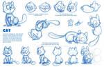 Cat Model Sheet