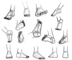 Shape Breakdowns: Feet by Robo-Shark