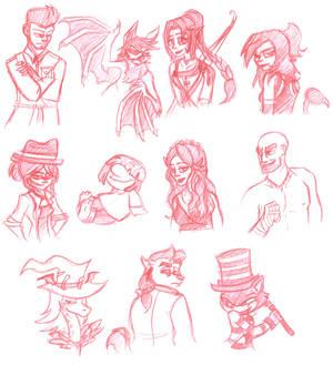 Contest Sketches