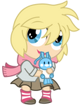 Commission: Trainer Chibi