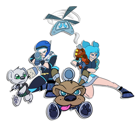 Toon Force Gemini Assemble! by Robo-Shark