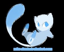 Shiny Mew by Robo-Shark