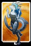 Commission: Shark Dragon