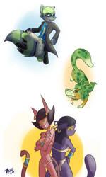 Sketch Commissions Batch 2