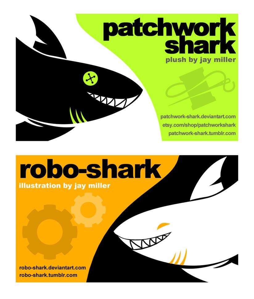 Sharky Cards by Robo-Shark