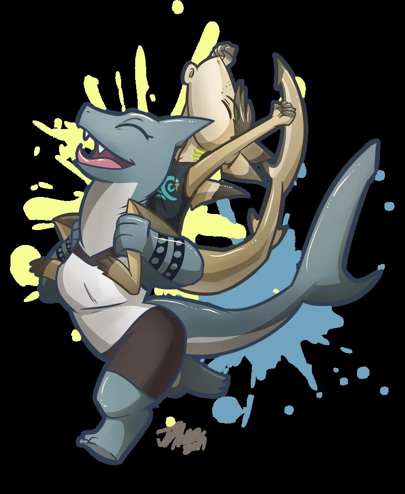 Sharky Ride by Robo-Shark