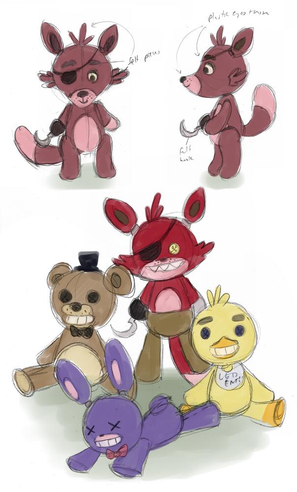 Plush stuffed foxy fnaf for sale myideasbedroom com