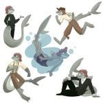 Sharky Sketch Dump