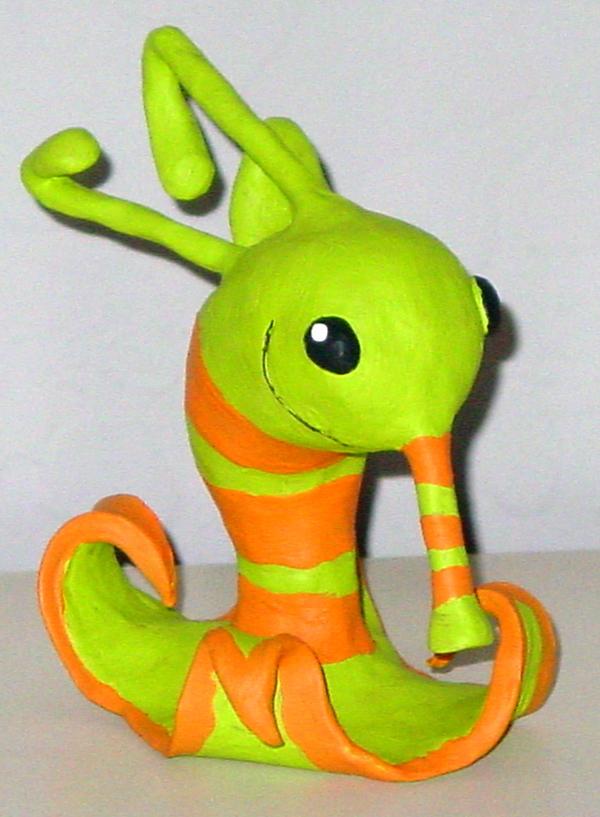 Psychonauts creature sculpture by Robo-Shark