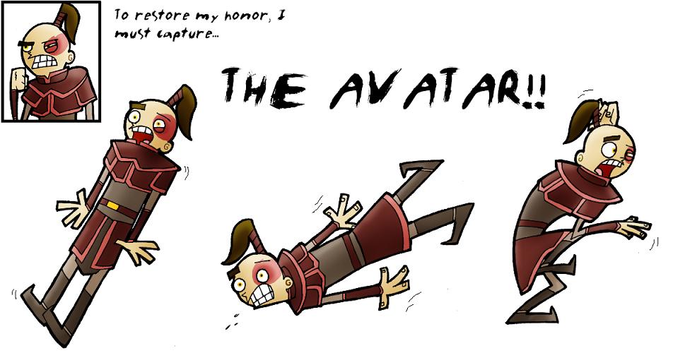 I MUST CAPTURE THE AVATAR by Robo-Shark