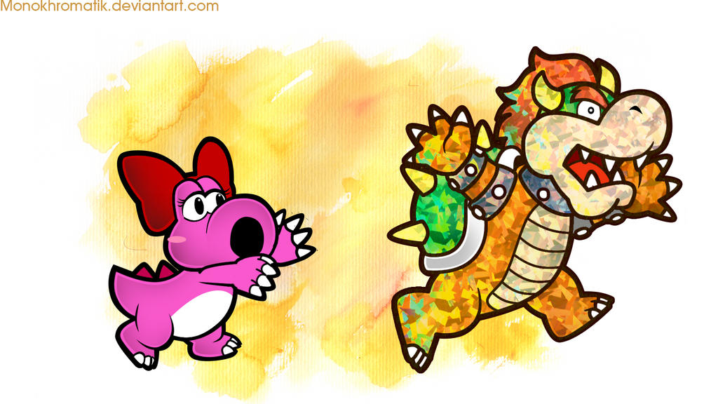 I Love Yoshi by Bowser2Queen on DeviantArt |Bowser Loves Yoshi