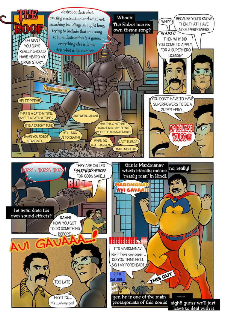 Great Indian Superheroes 3 by kstbhart