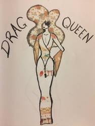 Drag Queen by amyreadalot