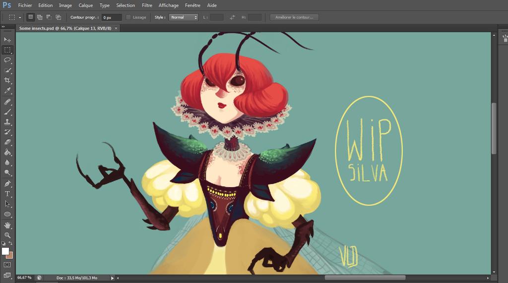 Work in Progress. by Vicky-Pandora