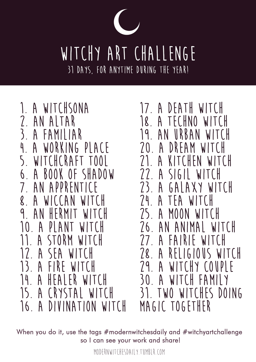 The Line Art Challenge : Witchy art challenge inktober by vicky pandora on