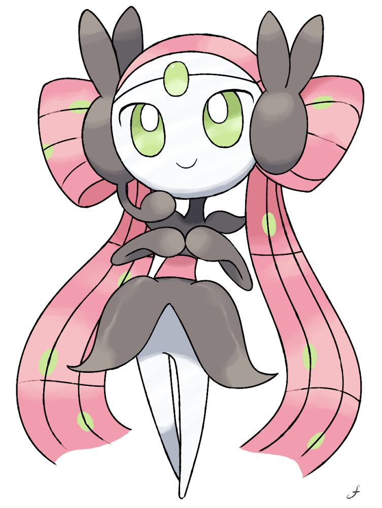 Meloetta Idol Form by goa8890 on DeviantArt