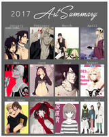 2017 Art Summary by unicornchen