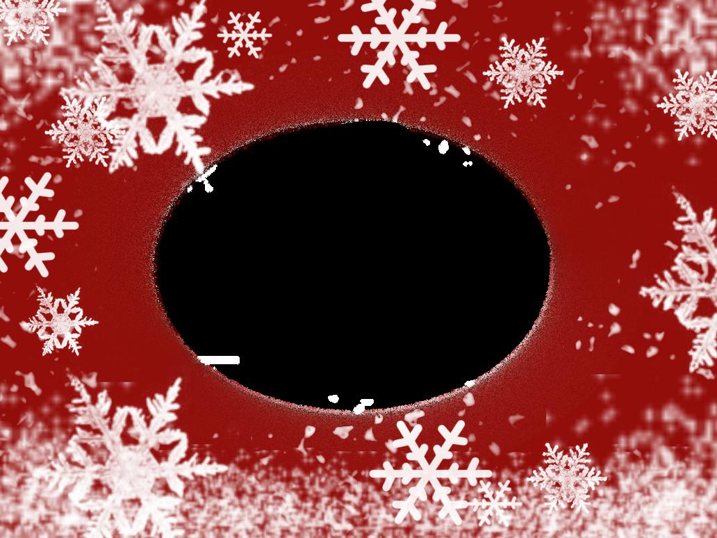 Snowflake Christmas Frame by daftopia on DeviantArt