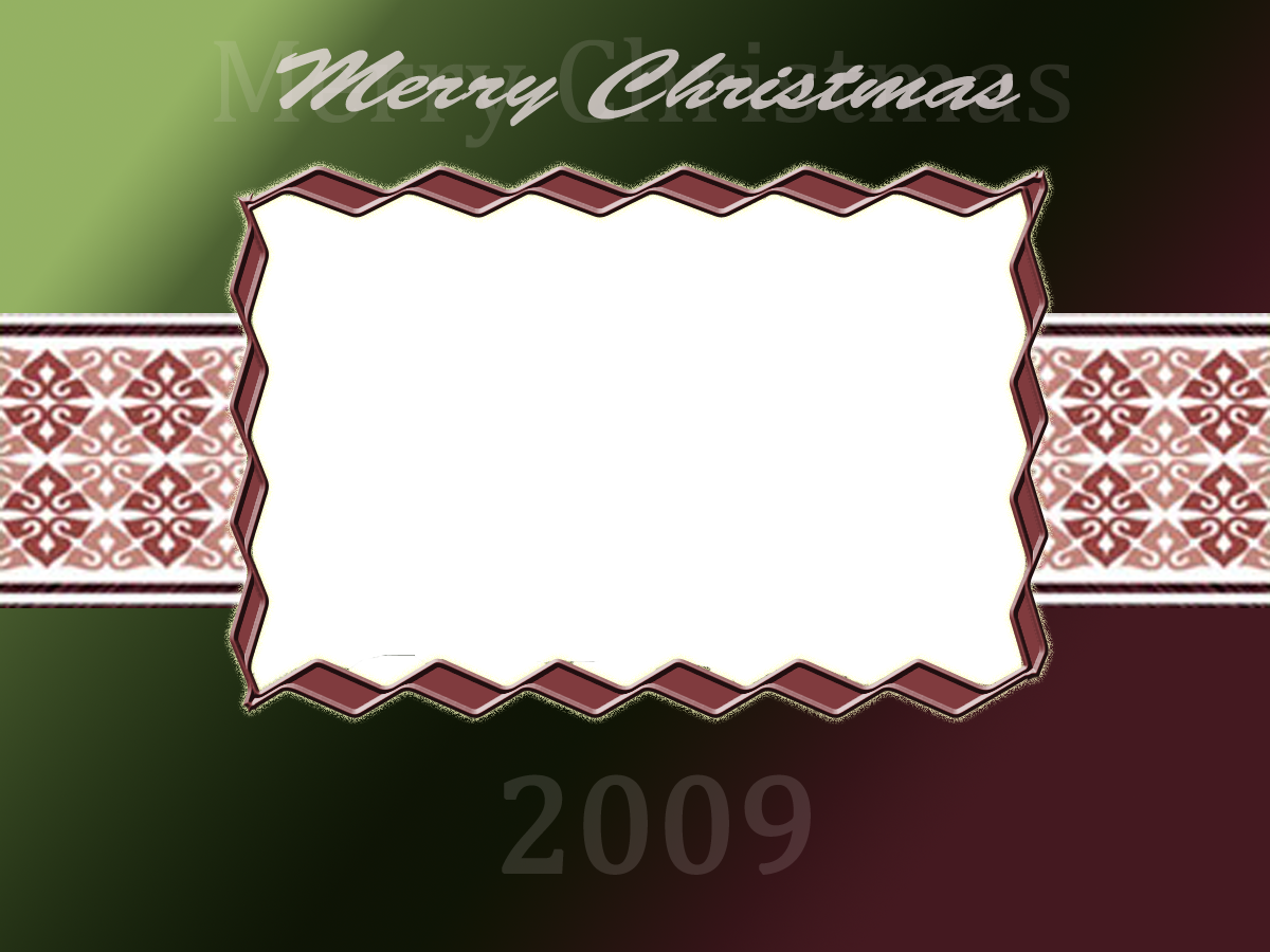 Merry Christmas picture frame by daftopia on DeviantArt