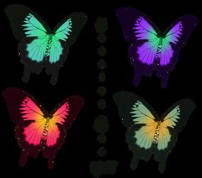 Swallowtail fairy wings stock by daftopia