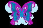Stock Butterfly wings