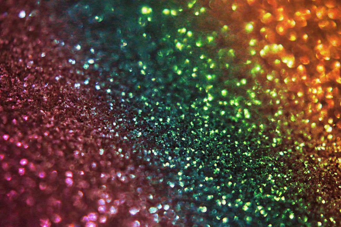 Rainbow Glitter bokeh texture by daftopia