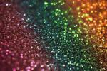 Rainbow Glitter bokeh texture