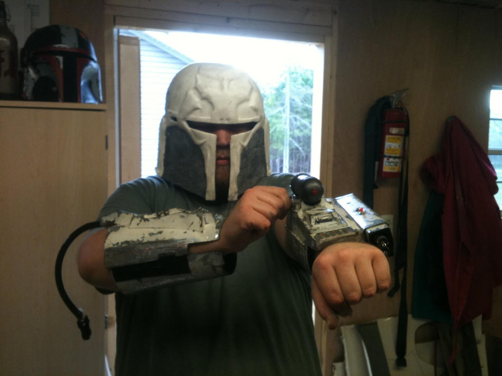 Mandalorian Build Log by MachaPanta