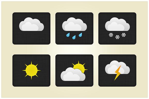 22 Weather Pack (freebie by pixelcave)