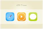30 iOS 7 Icons (freebie by pixelcave)