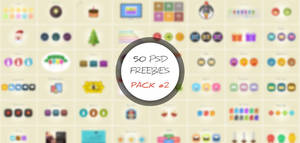 50 PSD Freebies Pack #2