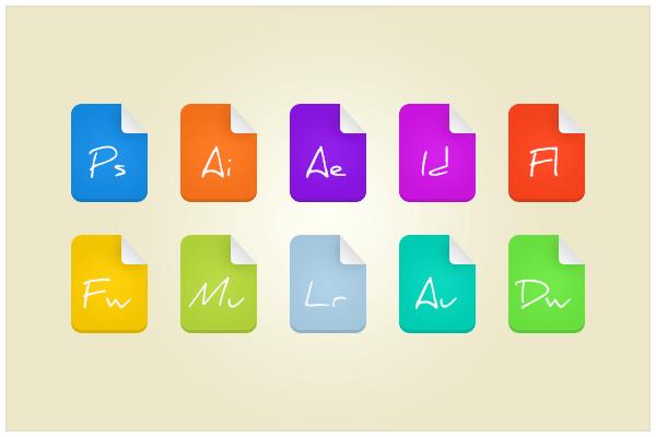 118 Adobe Files (freebie by pixelcave)