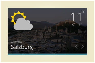 142 Weather Widget (freebie by pixelcave)