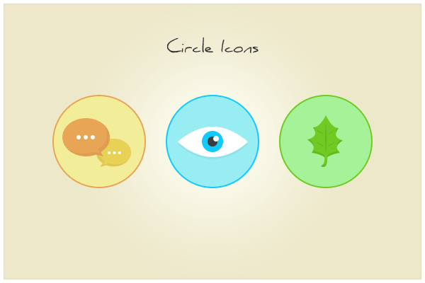 147 Circle Icons (freebie by pixelcave)