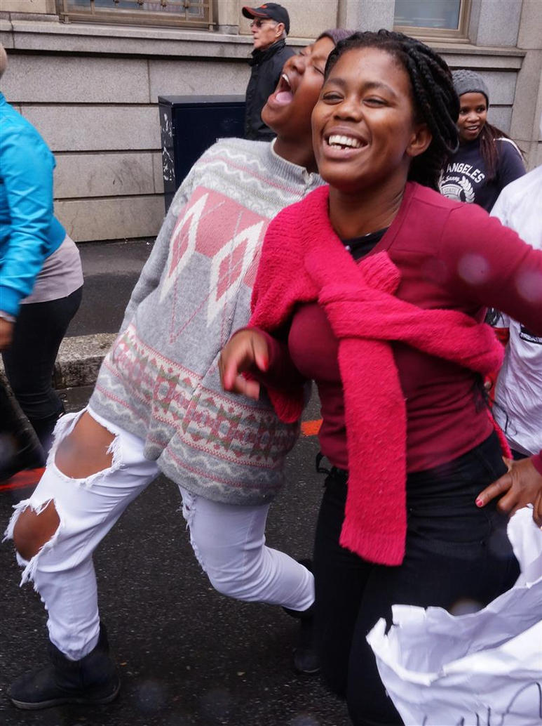 Happy Ladies - UAC March, Cape Town by AfricanObserver