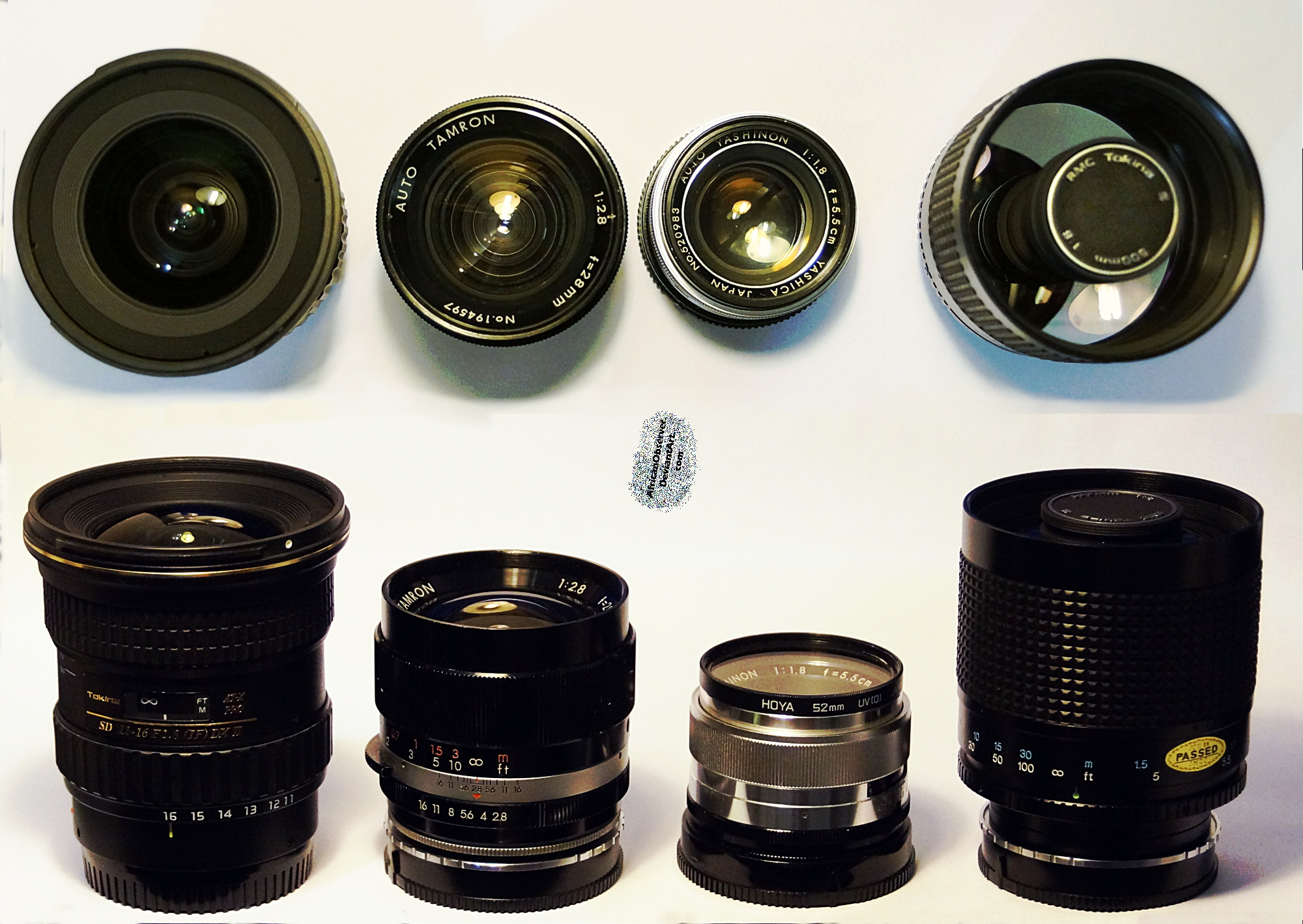 Lenses Compared by AfricanObserver