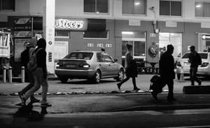 Koeberg Road - Pedestrians