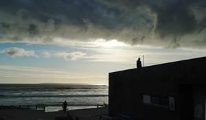 Surfers at Big Bay