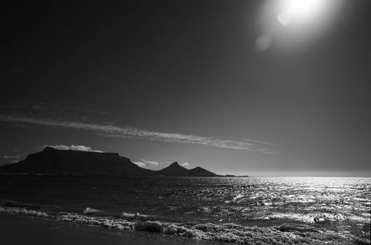 Table Bay Haze by AfricanObserver