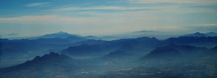 Smoke in Hottentots Holland Mountains by AfricanObserver