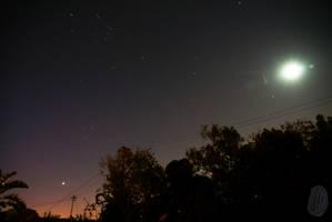 Venus, Peliades and Moon