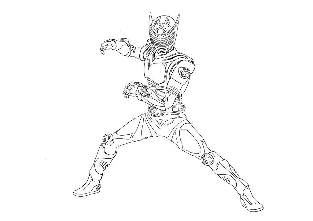 Kamen Rider Ryuki coloring page by aimanyazam on DeviantArt