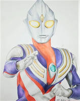 Ultraman Tiga by aimanyazam
