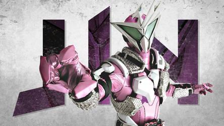Kamen Rider Jin Wallpaper by aimanyazam