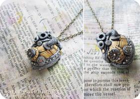 steampunk heart by tea-time-alchemist